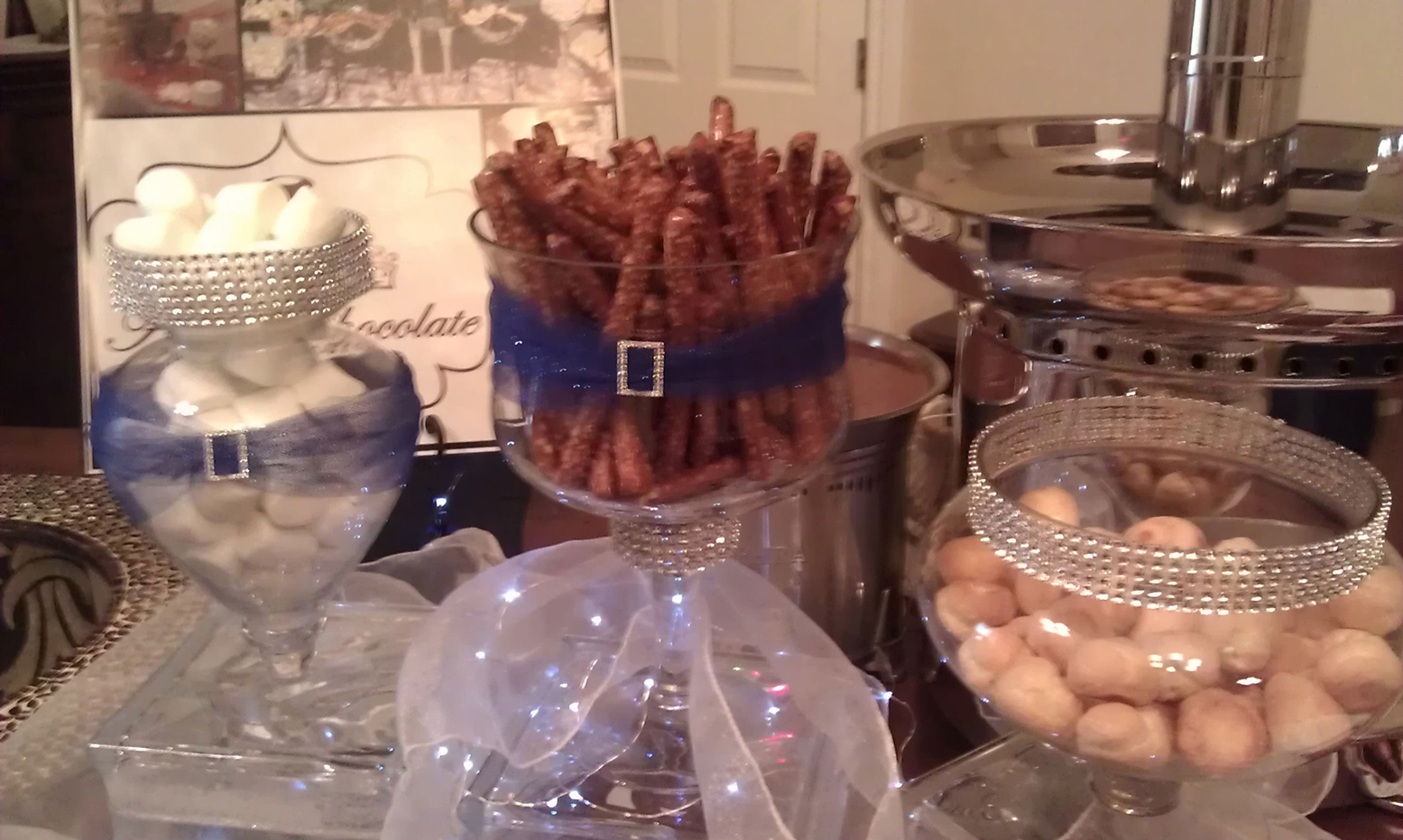 Austin Chocolate Fountain Rental Candy Buffet Dessert Bars